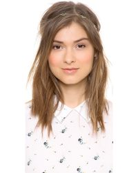 Dauphines of New York - The Mini Band Of Gold Headband - Lyst
