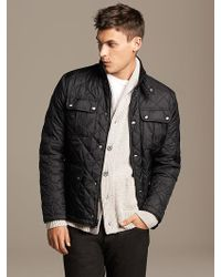 Banana Republic Quilted Jacket - Lyst