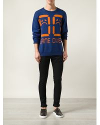 Jeremy Scott 'Game Over' Sweater - Lyst