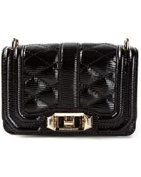 Rebecca Minkoff Mini Love Cross Body Bag - Lyst