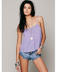 Free People Candys Every Girl Crop - Lyst