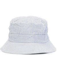Moncler Gamme Bleu - Striped Hat - Lyst