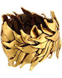 Oscar de la Renta Leaf Bracelet - Lyst
