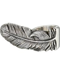 King Baby Studio Raven Feather Ring - Lyst