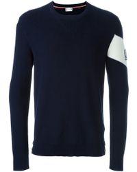 Moncler Gamme Bleu   Button Hem Sweater   Lyst