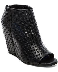 Jeffrey Campbell Black Jovita Wedge - Lyst