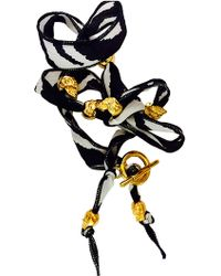 Duchess Of Malfi - Pony Print Skull Wrap Bracelet - Lyst