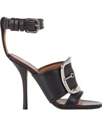 Givenchy Buckle-strap Diana Sandals - Lyst