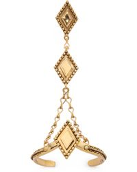 Vanessa Mooney The Fates Hand Piece - Gold - Lyst