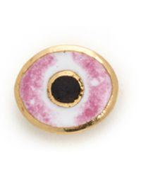 Holly Dyment - Mini Evil Eye Stud Earring - Pink - Lyst