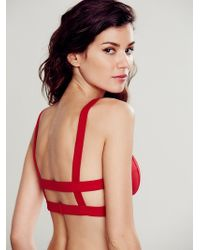 Intimately - Womens Cage Back Bra - Lyst