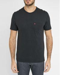 Levi's | Black Pocket T-shirt | Lyst