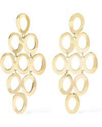Ippolita - Glamazon® Cascade 18-karat Gold Earrings - Lyst