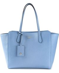Gucci Blue 'Swing' Tote - Lyst