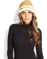 Ugg City Shearling Bucket Hat - Lyst