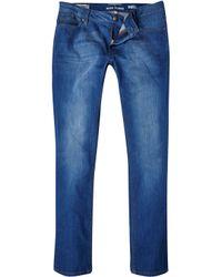River Island Bright Blue Sid Skinny Stretch Jeans - Lyst