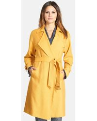 Classiques Entier Relaxed-Canvas Trench Coat - Lyst