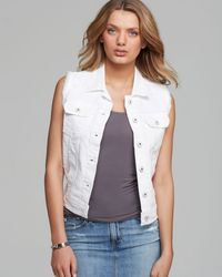 Ag Adriano Goldschmied Heather Denim Vest - Lyst