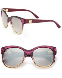 Gucci | Gg 54mm Optyl Cat's-eye Sunglasses | Lyst