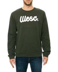 Wesc The Flow Script Sweatshirt - Lyst