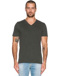 AG Adriano Goldschmied Commute Cotton T-Shirt black - Lyst