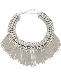 Catherine Stein - Finged Chain Collar Necklace - Lyst