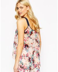 Oasis - Tie Dye Co-ord Cami - Lyst