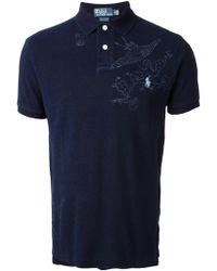 Ralph Lauren Blue Label - Embroidered Polo Shirt - Lyst