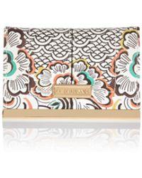 River Island | Orange Floral Print Travel Wallet | Lyst