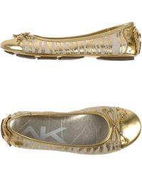 Anne Klein Ballet Flats - Lyst