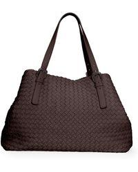 Bottega Veneta Large Woven A-shape Tote Bag - Lyst