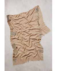 Anthropologie Shimmer Edge Scarf - Lyst