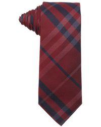 Burberry London Military Red Nova Check Print Silk 'Rohan' Tie - Lyst