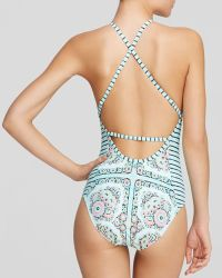 Nanette Lepore Montecito One Piece Swimsuit - Lyst