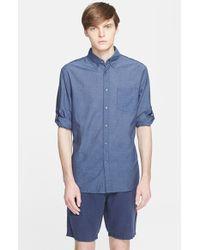 John Varvatos Slim Fit Sport Shirt - Lyst
