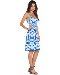 Cecilia Prado Azulejo Dress - Lyst