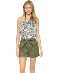 Laveer - At Sea Romper - Lyst