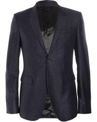 Burberry Prorsum Slimfit Wool and Cashmereblend Blazer - Lyst