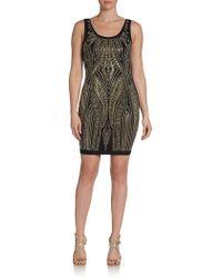 Alexia Admor Embellished Mini Dress - Lyst