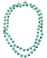 An Old Soul - Jasper Bead Crocheted Necklace - Lyst