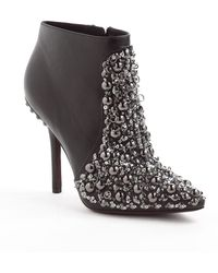 Vera Wang Lavender - Beacon Leather Ankle Boots - Lyst
