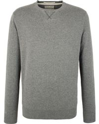 Racing Green - Wilder Quilted Crew Neck Jumper - Lyst