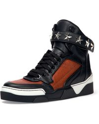 Givenchy Basketball Star-studded High-top Sneaker - Lyst