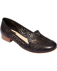 Dolce Vita Ipis Leather Cutout Loafers - Lyst