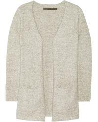 Enza Costa Knitted Cardigan - Lyst