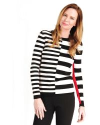 Katherine Barclay - Variegated Stripe Sweater - Lyst