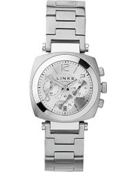Links of London - Brompton Stainless Steel Chronograph Watch - Lyst