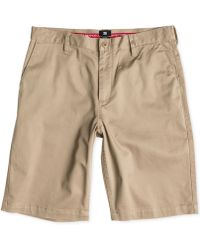 """DC Shoes - Worker Stretch Twill 22"""" Shorts - Lyst"""