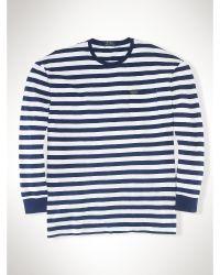 Ralph Lauren Striped Cotton T-Shirt - Lyst