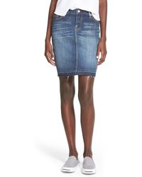 Vigoss - Denim Skirt - Lyst